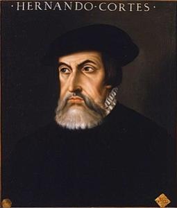 Spanish Conquistador, Hernando Cortes